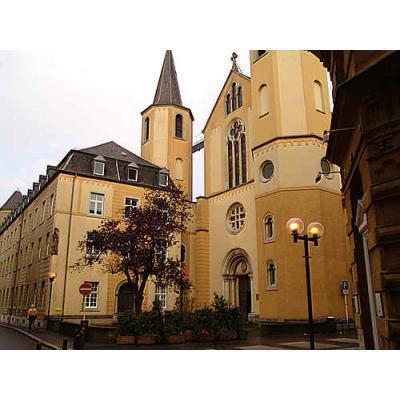 Restaurierung Fenster im Kloster Luxemburg