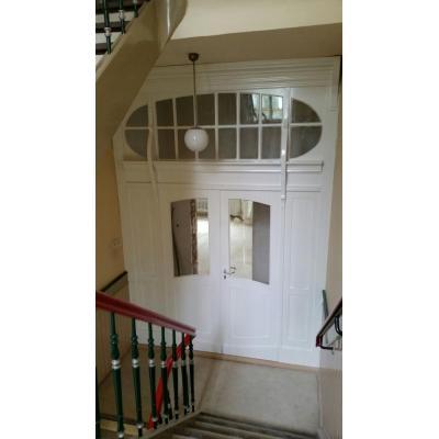 Restaurierung Eingangselement